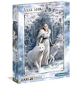 Clementoni Stokes Puzzle-Anne stokes-1000Unidades, 39477