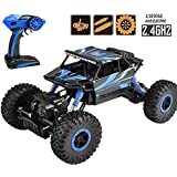 Zoyo Monster Truck 1:18 Rechargeable 4Wd Rally Car Rock Crawler R/C Remote Control Monster Truck Car for Kids