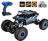 Zoyo Monster Truck 1:18 Rechargeable 4Wd Rally Car Rock Crawler R/C Remote Control