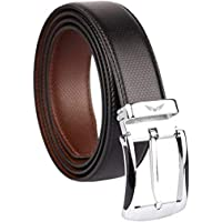 Axe Style ARTIFICIAL PU Leather Boy's Casual & Formal Reversible Belt Black/Brown (Size 28-44 Cut to fit men's Belt…
