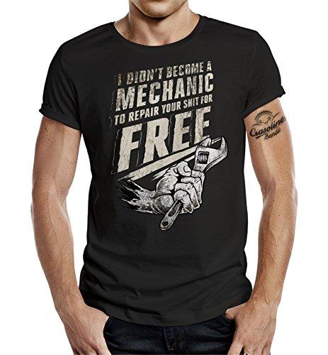 Original GASOLINE BANDIT® T-Shirt: Have i became a Mechanic