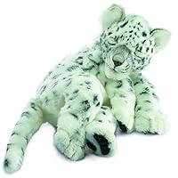 Sleeping Floppy Snow Leopard Plush Soft Toy by Hansa 40cm 4753