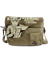 2235388dbb43 Genric Detective Conan   2017 Anime Naruto Sasuke Messenger Bag School Bag  For Students Kids Children Teenager Canvas Bags Men…