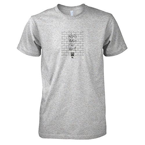 TEXLAB - GoT: The Wall - Herren T-Shirt Graumeliert