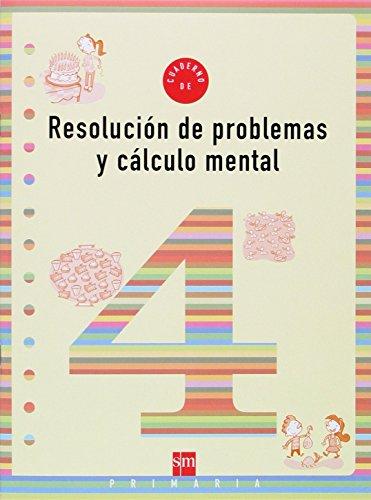 Portada del libro Cuaderno 4 de resolución de problemas y cálculo mental. 2 Primaria - 9788434897403