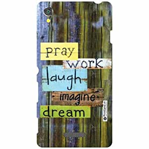 Sony Xperia T3 D5102 Back Cover - Wood Art Designer Cases