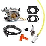 Aisen carburateur avec tuyau de carburant Bougie d'allumage pour Stihl h24d...