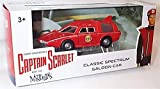 corgi captain scarlet and the mysterons red classic spectrum saloon car 50th anniversary 1.36 scale diecast model