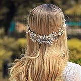 jovono Hochzeit Haarband Brautschmuck Head Accessoires Haar Vines für Frauen und Mädchen
