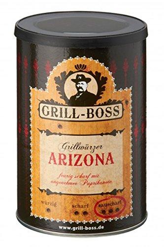 Preisvergleich Produktbild Grill Boss - Arizona - feurig scharfes Grillgewürz 250g