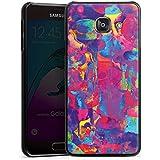 Samsung Galaxy A3 (2016) Housse Étui Protection Coque Explosion de couleurs Couleurs couleurs