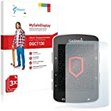 3x Vikuiti MySafeDisplay Protector de Pantalla DQCT130 de 3M para Garmin Edge 520