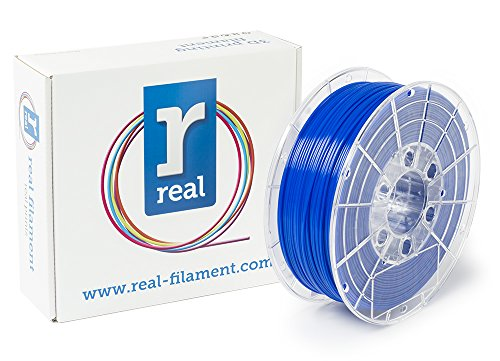 Price comparison product image Real Filament 8719128328874 Real PETG,  Spool of 1 kg,  1.75 mm,  Opaque Blue