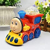 Ruchiez Light Train For Kids With 4D Light & Sound, Train Set Toys For Kids (Random Color), Musical Toy, Baby Toy, Kids Toy, Children Toy