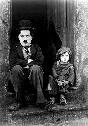 Generic The Kid Film Foto Poster Klassisches Film Kunst Charlie Chaplin The Tramp 004 (A5-A4-A3) - A3 - Charlie Chaplin-film Poster