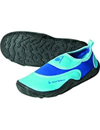 Aqua Sphere. Zapatos de Neopreno para niños para la Playa y el Agua, Color Azul/Azul Claro, tamaño 20, Volumen Liters 3.99