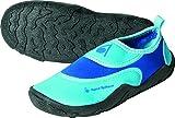 Aqua Sphere, scarpe acquatiche da spiaggia per ragazze in neoprene, Bambino, Beachwalker, Blue/Light Blue, 24