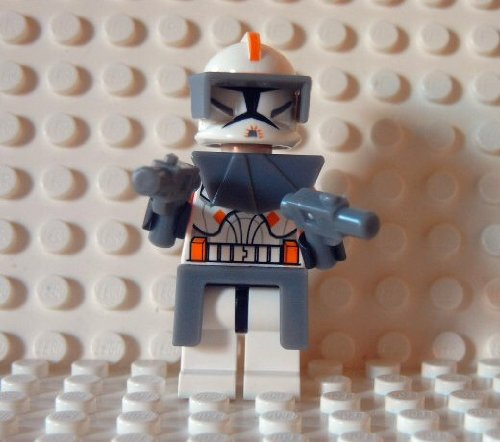 Commander Star Cody Wars (LEGO Star Wars Figur Commander Cody - Clone Wars- aus Set)