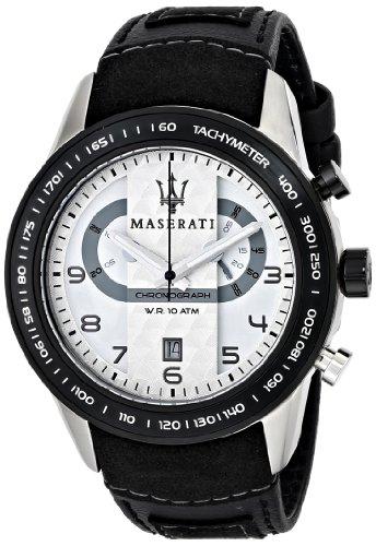 Maserati Reloj De Pulsera Maserati Corsa R8871610001 Reloj Caballero Crono Acero 100M Negro