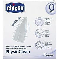 Chicco Physio Clean - Pack de 10 recambios para aspirador nasal