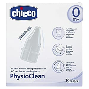 Chicco Ersatzteile für Nasenschleimentferner Physio Clean