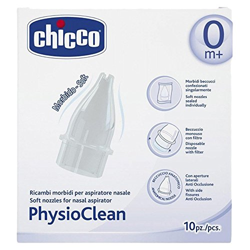 Chicco PhysioClean Replacement Nozzles for Nasal Aspirator