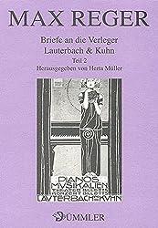 Briefe an die Verleger Lauterbach & Kuhn