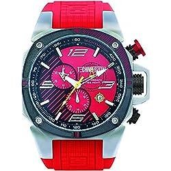 TechnoSport Herren Chrono Uhr - FORMULA silber