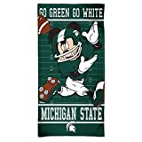 Wincraft Michigan State Spartans Mickey Mouse Disney Telo Mare