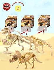 AKINGSHOP Dinosaur Excavation Kits for Kids,Dino Dig Kits,Dinosaur Fossil Excavation Kits for Kids,Children