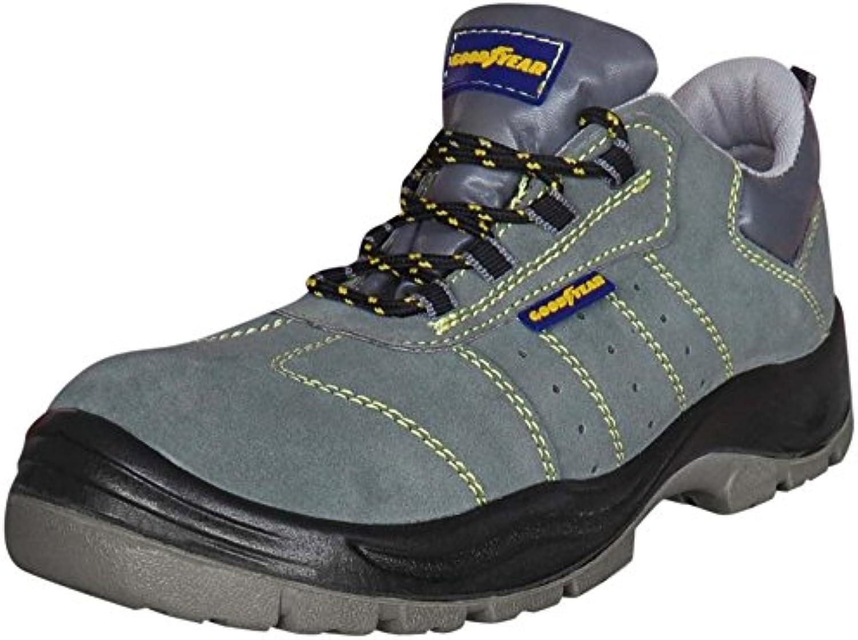 GOODYEAR G8000. Zapatos de trabajo. Calzado de protección de capa de vacuno. Puntera + lamina en acero inox. S1P...
