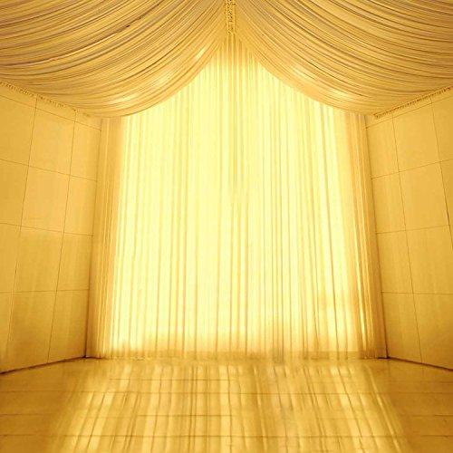 5x 2,1Vinyl Digital gelb Licht Zelt Vorhang Fotografie Studio Hintergrund