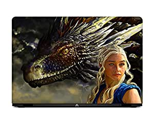LOISTER Game of Throne Winter is Coming Laptop skin for 14.1 inches Laptop