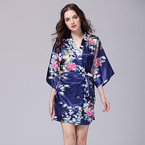 lpkone-Vêtements pour femmes à manches courtes robe de soie robe en soie de glace,sexy codes Code:,White Navy Blue