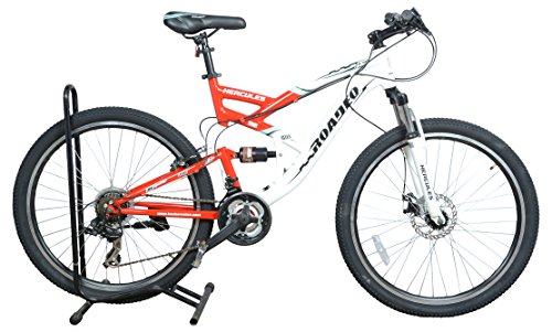 Hercules Roadeo A 300 Bicycle (White/Red)