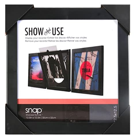 Snap Show and Use Vinyl Record Frame