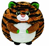 TY 38018 - Monaco Ball - Tiger, 12 cm