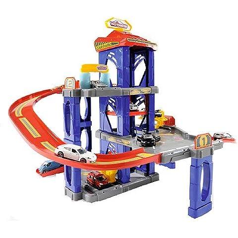 Majorette - Garaje de juguete (47x53x56 cm) (212059999) [Importado]