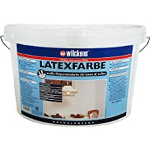 Wilckens Latexfarbe hochglänzend, 2,5 L, weiß 13490300080
