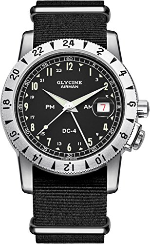 Glycine airman dc4 GL0071 Herren Automatik Uhren