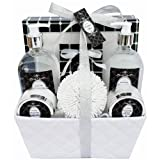 Gloss! Crystal Spa Bath Gift Set, Lavender Mint - 7 Piece