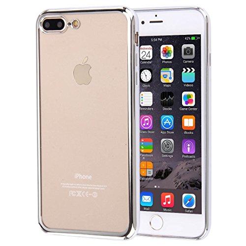 Fur IPhone 7 Plus Galvanisieren Transparente Weiche TPU Schutzhulle DEXING Color Gold Silver