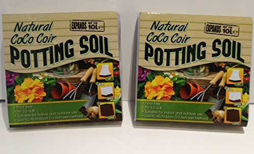 2-x-potting-compost-soil-expands-to-10-l-coco-coir-for-plants-flowers-seeds