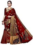 #6: Traditional Fashion Sarees ( Sarees for women latest design sarees new collection 2017 sarees below 1000 rupees sarees below 500 rupees party wear sarees for women party wear sarees above 1000 rupees sarees above 2000 rupees sarees above 1000 sarees all sarees above 500 rupees a party wear sarees for wedding in Red Color Cotton Silk fabric sarees with unstitched blouse piece )