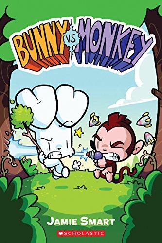 Bunny vs. Monkey por Jamie Smart