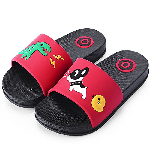 Kvbaby scarpe da spiaggia e piscina bambini pantofole da bagno ragazzi e ragazze pantofole da interno e da esterno sandali estivi - suola antiscivolo