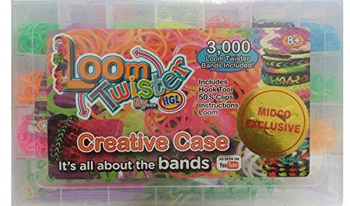 LOOM TWISTER Creative Case 3000 Set (Twister Loom)