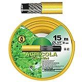 SATURNIA 8071020 Manguera Amarillo Hidro Mat 30 mm. - 1 1/4 Rollo 25 Metros