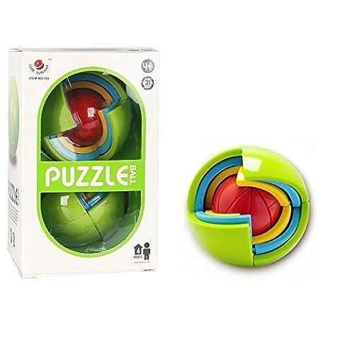 SainSmart Jr. Amaze BL-14 3D Intelligence Jeu De Balle Puzzle (21 Pièces)