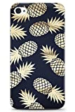 Case Warehouse iPhone 4 / 4s Fashion Designer Luxury Or Ananas en Gel de Silicone TPU...